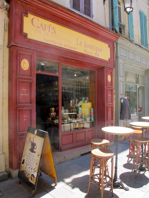 The coffee shop in Arles