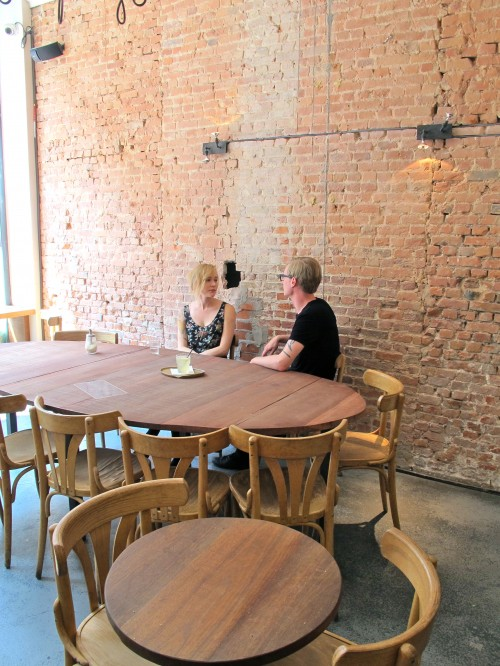 Large communal table