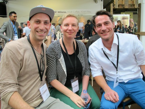 With Moniek Smit and Bas Burghoorn of Single Estate Coffee