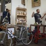 Lex from Headfirst and the hipster racing bike that has become synonimous with coffee