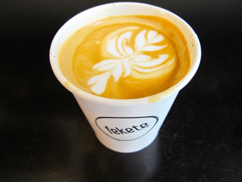 A lovely flat white