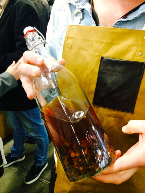 Cascara infusion from Single Estate Coffee