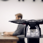 The coffee copter arrives with your coffee