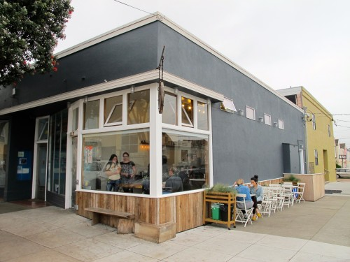The outside of Andytown Coffee Roasters