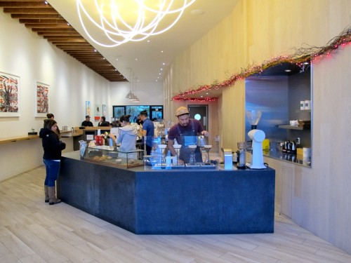 The Ritual Coffee Valencia St. flagship store
