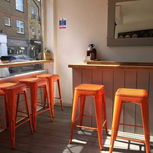 Colourful stools