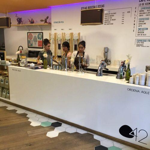 The awesome coffee bar