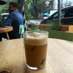 A refreshing espresso horchata