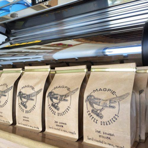 Bags of coffee for purchase