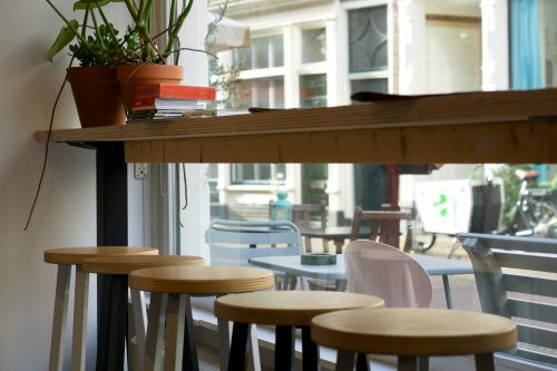Window seating for people watching