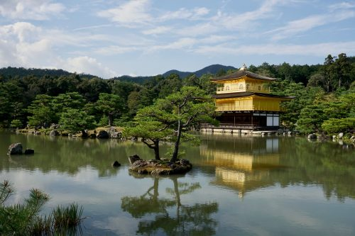 The Golden Pagoda, one of Kyoto's most iconic sights