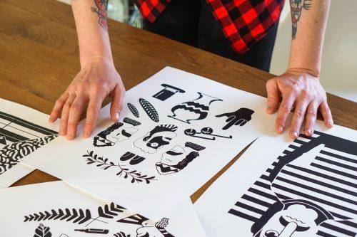 Some of Ren's work