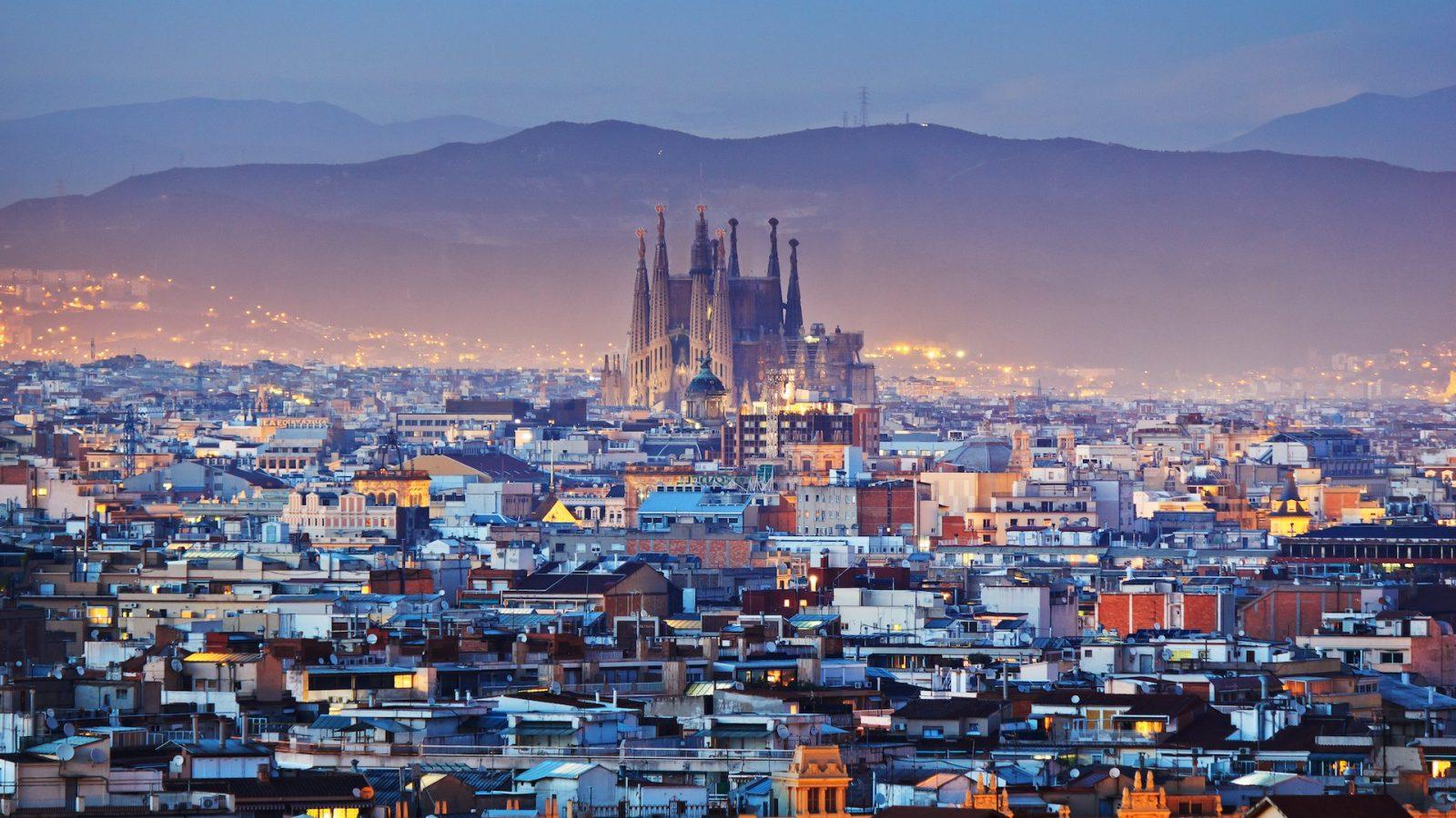 The city of Barcelona