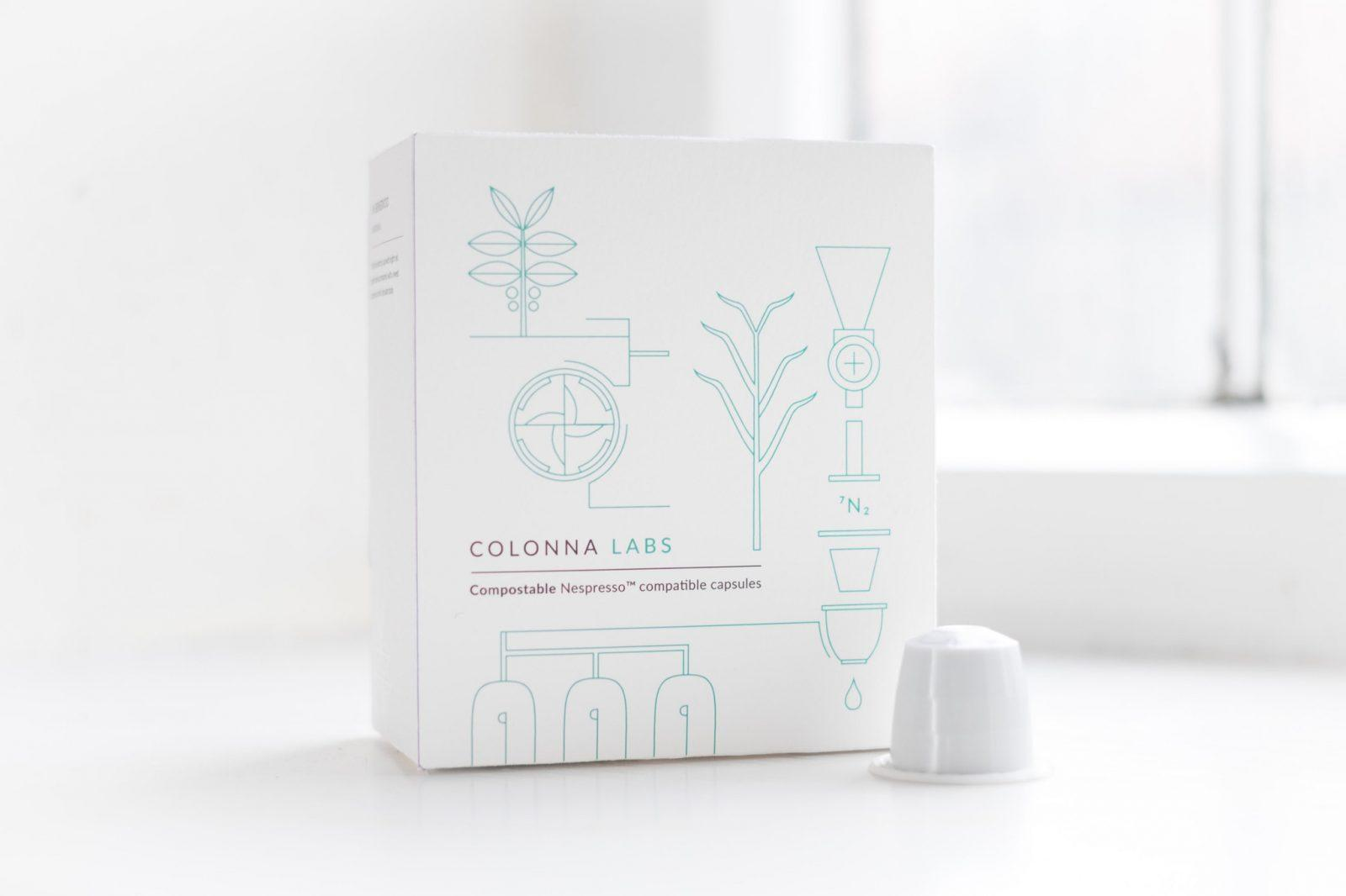 Colonna's compostable capsules