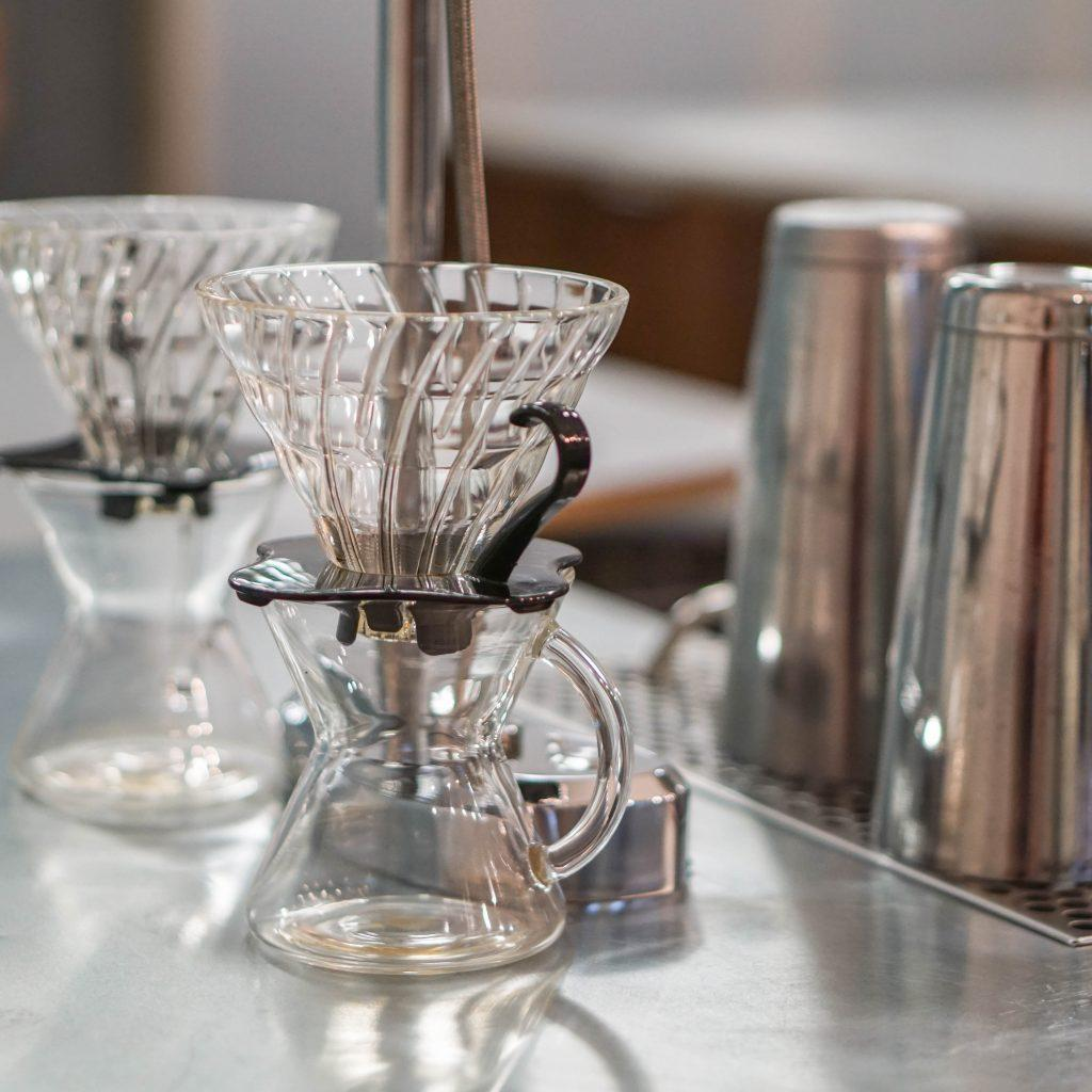 Pour over set up