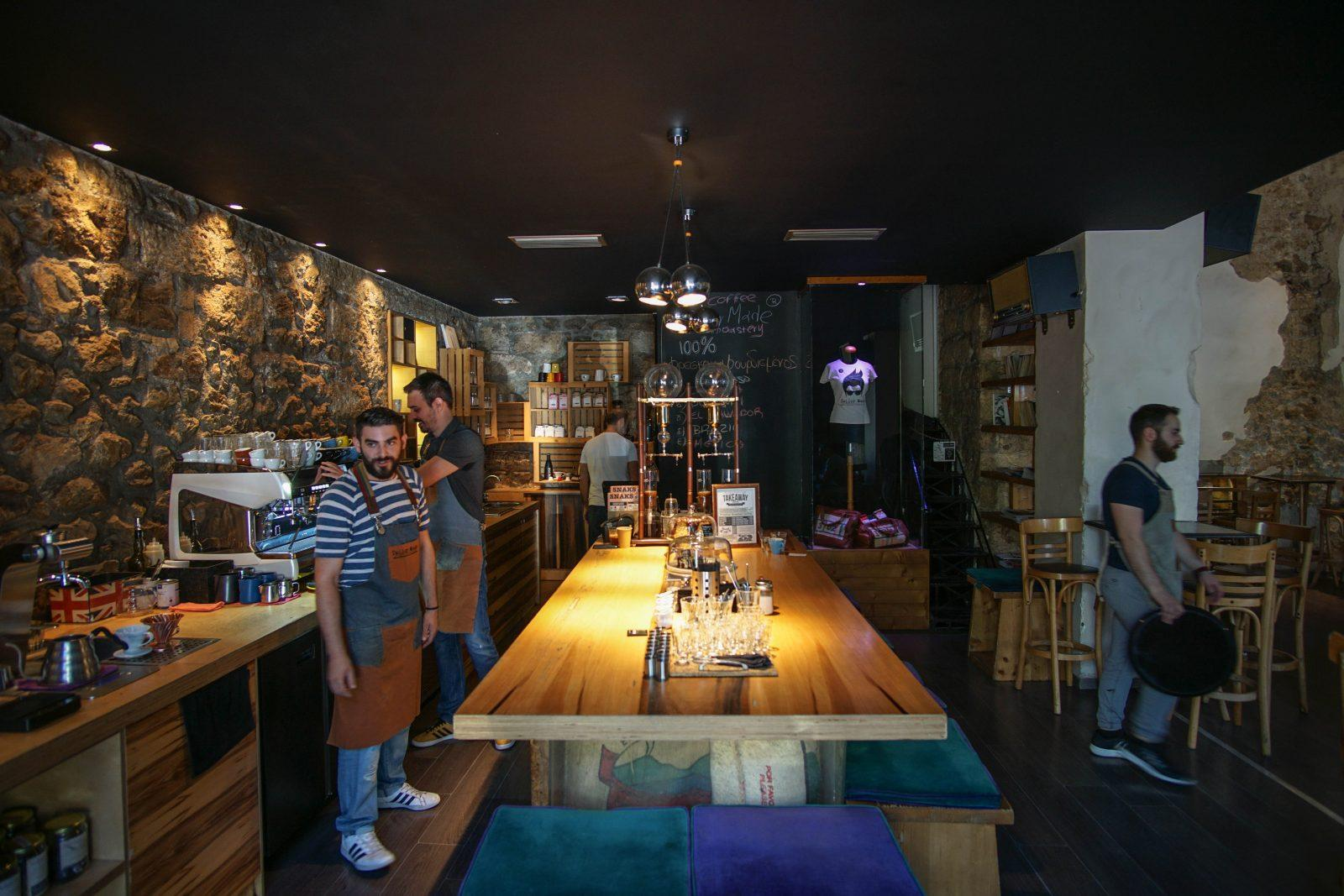 View of the coffee bar