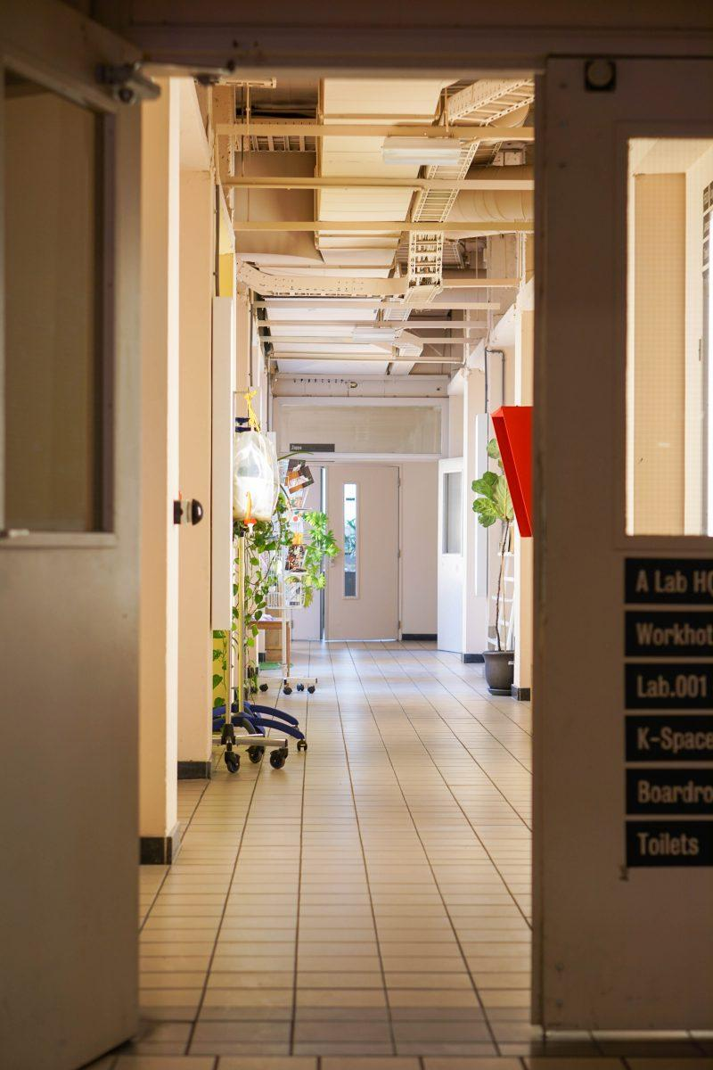 The corridors of ALab