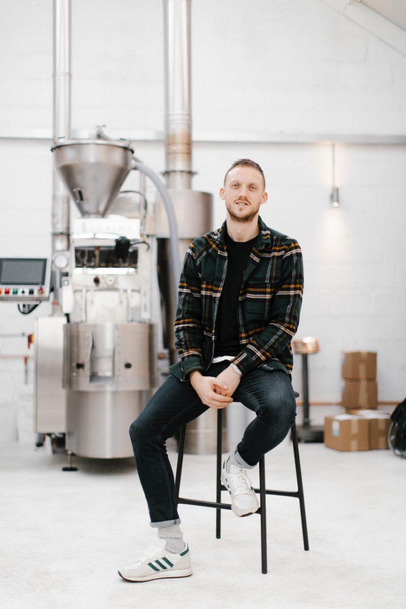 Joel Grates of NewGround Coffee